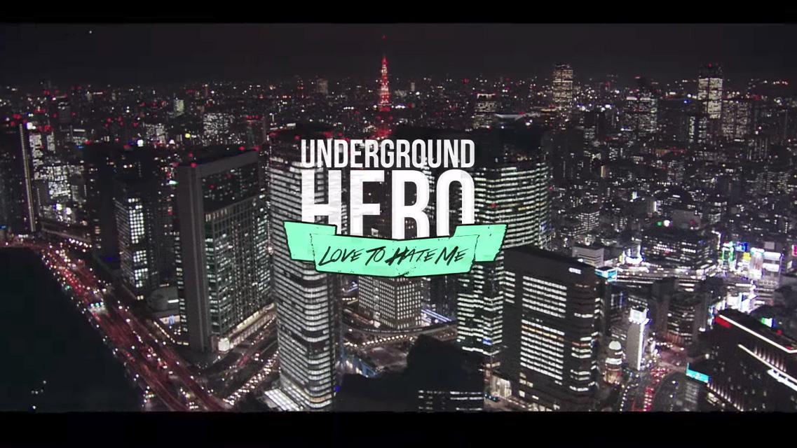 UNDERGROUND HERO YAKUZA LAMBORGHINI #CORECODILE