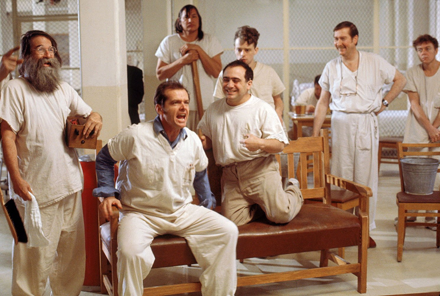 One flew over the cuckoos nest corecodile