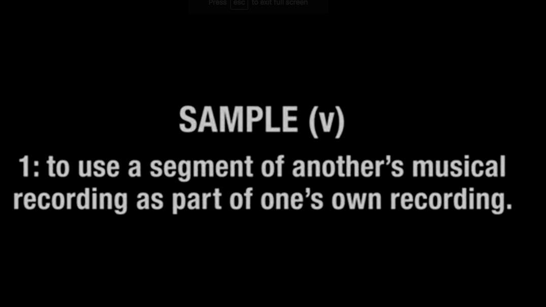 Sampling Documentary Corecodile