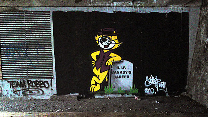 Graffiti Wars King Robbo VS Banksy RIP Banksy's Career Corecodile Streets
